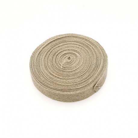 Lacette, ruban pur lin pour attache dos de cadre