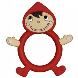 Red Riding Hood Teething Rattle