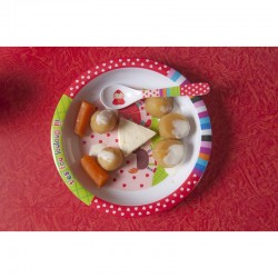 Chaperon tableware set for children