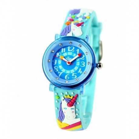 Coffret apprendre à lire l'heure avec montre fille