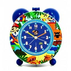 Silent alarm clock for children