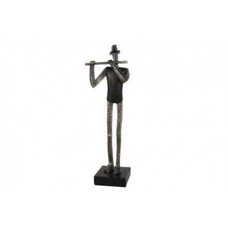 Metal sculpture, half point dancer crown arm
