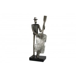Sculpture, Double bass statue