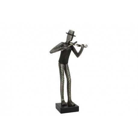 Sculpture, violonist statue