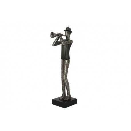 Sculpture, trompettist statue