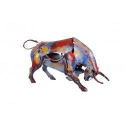 Sculpture, Taurus statuette, pigment collection