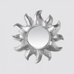 Silver sun mirror