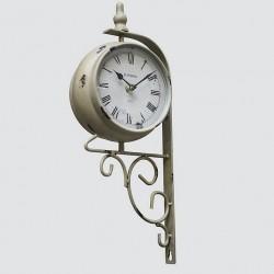 Horloge quai de gare taupe