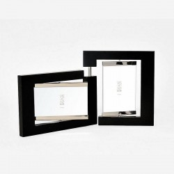 Photo frame with 2 pivoting views 10x15 cm