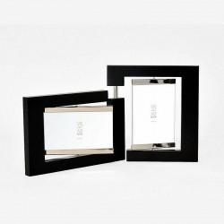 Photo frame with 2 pivoting views 10x15 cm