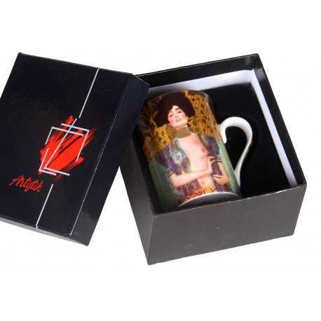 Judith and Holofernes mug by Gustave Klimt
