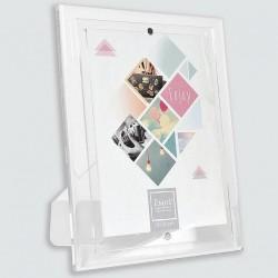 Cadre photo plexiglas aimanté format 15x20 cm