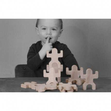 le jeu du petit peuple en bois