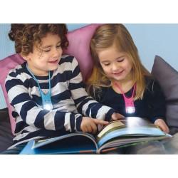 Lampe de lecture pour enfant rose