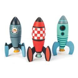 Construire une fusée jeu pour enfant