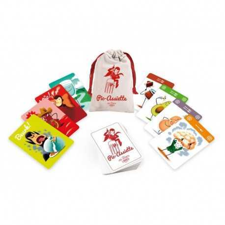 Pic-plate nutrition card game