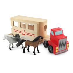 Wooden horse truck