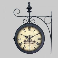Double metal clock