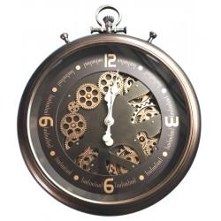 Horloge gousset à engrenages