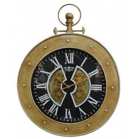 Marine style gusset clock