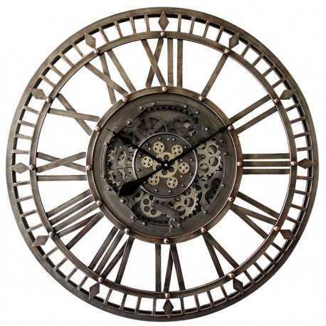 Horloge à engrenages diamètre 90 cm
