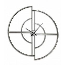 Metal destructured effect clock