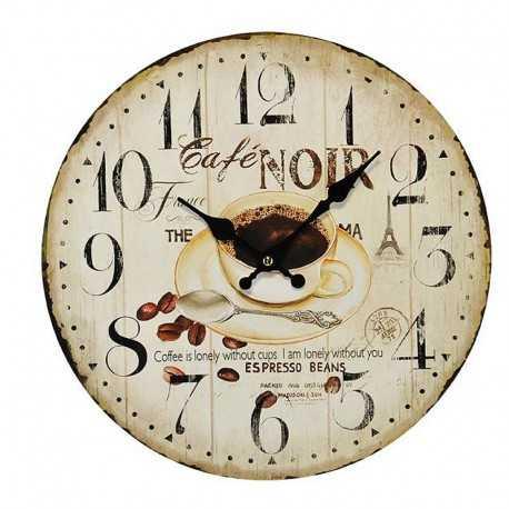 Coffee cream clock