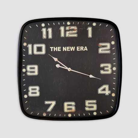 Horloge carrée décor The new Era