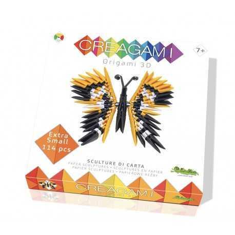 Origami, sculpture papier le papillon