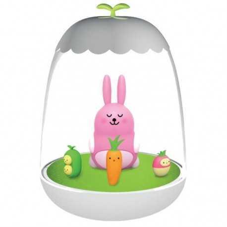 Veilleuse rechargeable petit Ako le lapin