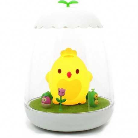 Rechargeable nightlight small Ako the chick