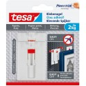 2 adhesive hooks 4 Kg for tiles, metal