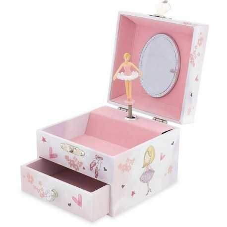Musical box with dancer