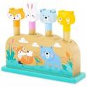Pop-up les animaux, jeu pour enfant