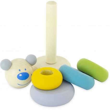 Lapinou, stackable game for toddlers