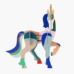 Décoration, la Licorne totem
