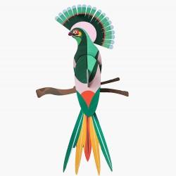 Décoration, l'oiseau paradisiaque