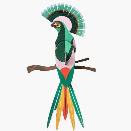 Decoration, the bird of paradise
