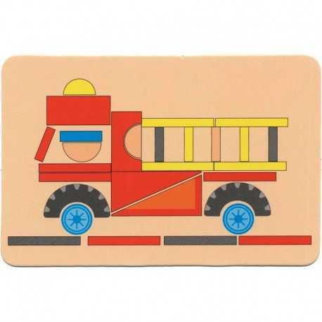 Jeux pour enfant, les petits clous, les pompiers