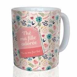 Mug, Tea my beloved daughter by Puce & Nino