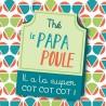 Mug, Mon papa poule by Puce & Nino