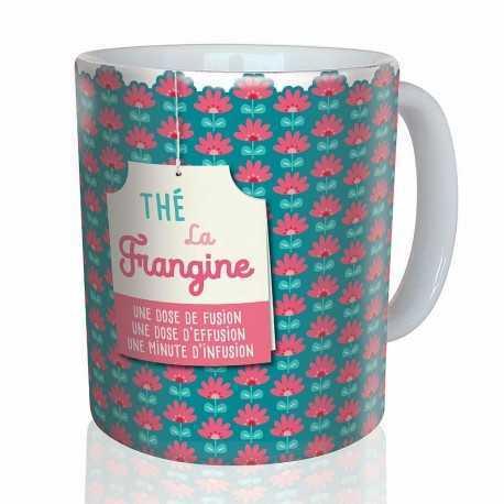 Mug, Thé la Frangine by Puce & Nino