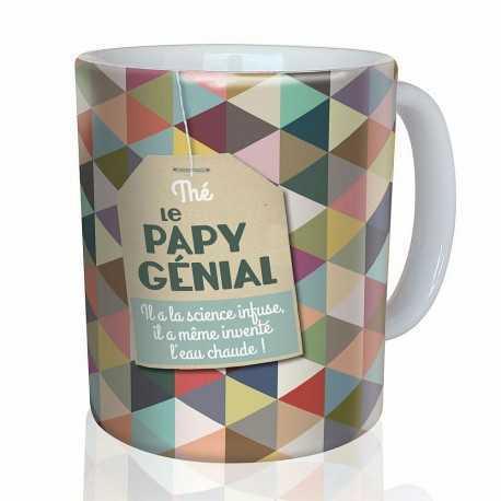Mug, Tea the brilliant Grandpa by Puce & Nino
