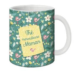 Mug, Thé merveilleuse maman by Puce & Nino
