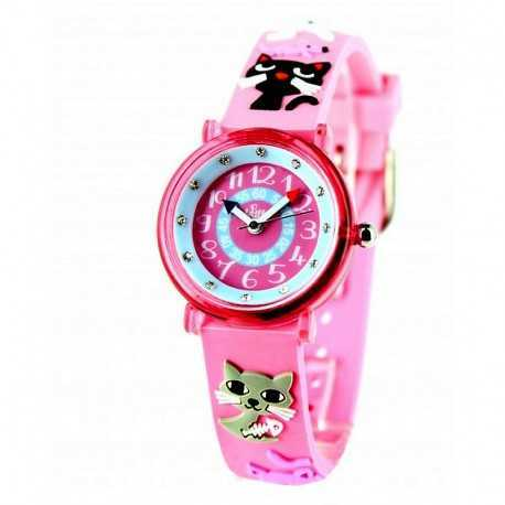 Educational watch for girl, cat model