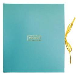 Album photo artisanal en papier de coton