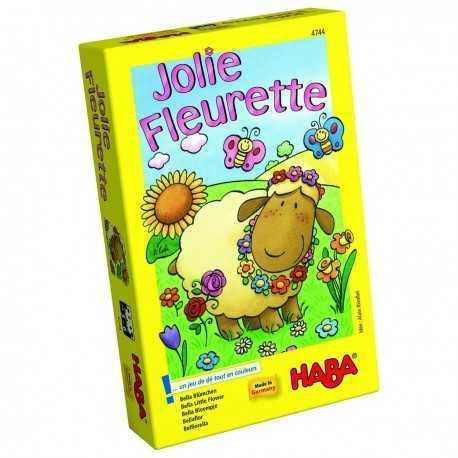 Jolie Fleurette Jeu de dés pour enfant