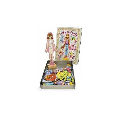 puzzle, magnet habiller Cathy