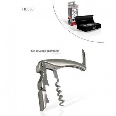 Luxury aluminum corkscrew