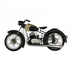 Moto vintage, décoration murale